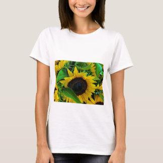 T-shirt Sonnenblumen, Frauen
