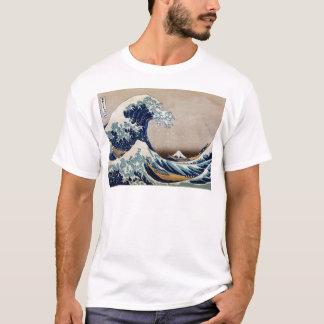 T-shirt Sous la grande vague