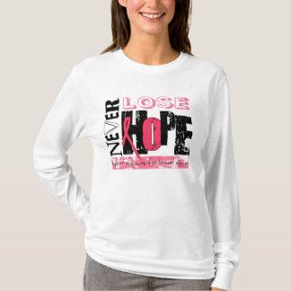 T-shirt Soutenez le traitement pour le cancer du sein