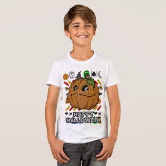 T-shirt Style laid Halloween heureux de chandail de