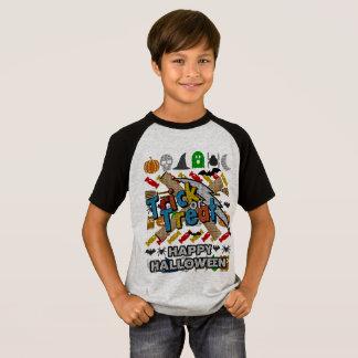 T-shirt Style laid Halloween heureux de chandail de des