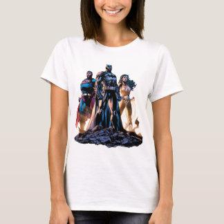 T-shirt Superman, Batman, et trinité de femme de merveille