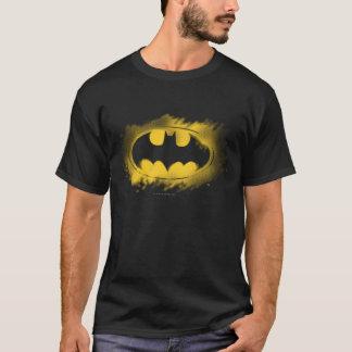 T-shirt Symbole logo noir et jaune de | de Batman