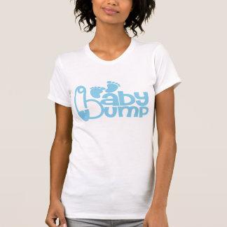 T-shirt Tee - shirt de maternité de bosse de bébé