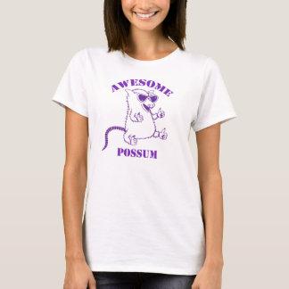 T-shirt Tee - shirts impressionnants pourpres d'opossum