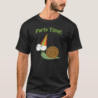 T-shirt Temps de partie ! Escargot