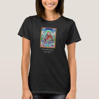 T-shirt Thangka tibétain oriental frais Padmasambhava