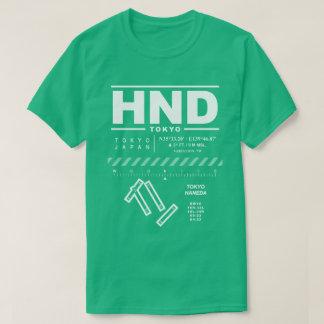 T - Shirt Tokyos Haneda internationalen