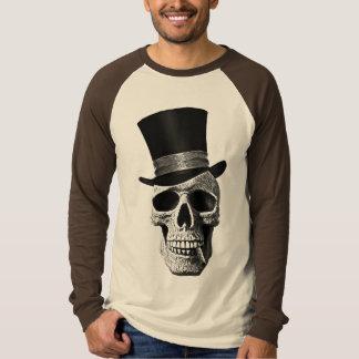 T-shirt Top hat skull