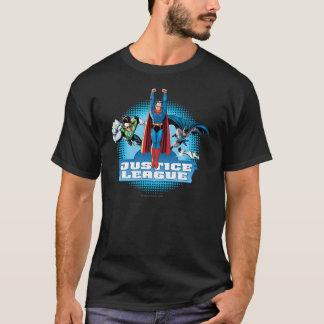 T-shirt Trio de puissance de ligue de justice