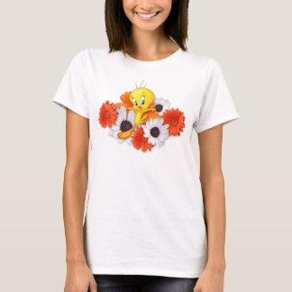 T-shirt Tweety avec des marguerites