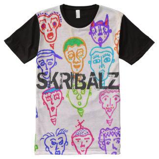 T-Shirt vieler Gesichter