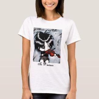 T-shirt Violoniste d'Emo