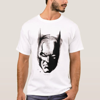 T-shirt Visage dessiné par Batman
