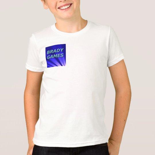 T - Shirt-Warenkinder Brady Spiele offizielle T-Shirt
