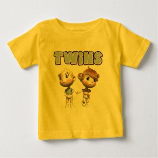 T-shirts de jumeaux d'enfants et cadeaux d'enfants