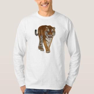 T-shirts de motif de tigre/habillement