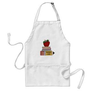 T-shirts et cadeaux de roche de professeurs d'Appl Tabliers