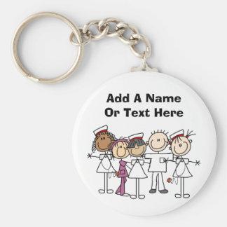 T-shirts et cadeaux de semaine d'infirmières porte-clé