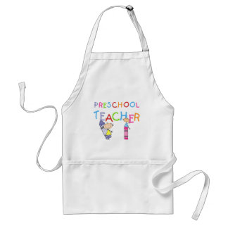 T-shirts et cadeaux préscolaires de professeur de  tablier