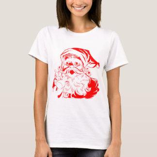 T-shirts graphiques de Noël de Père Noël