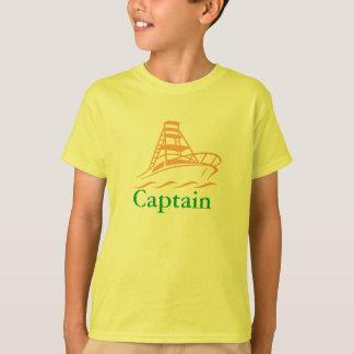 T-Shirts Kapitäns Boat für Kinder
