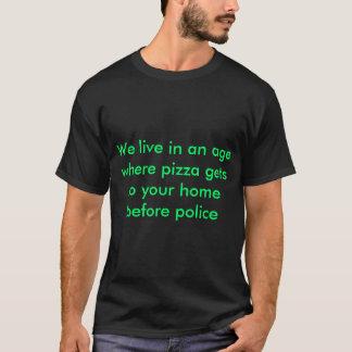 T - Shirts leben wir in einem Alter