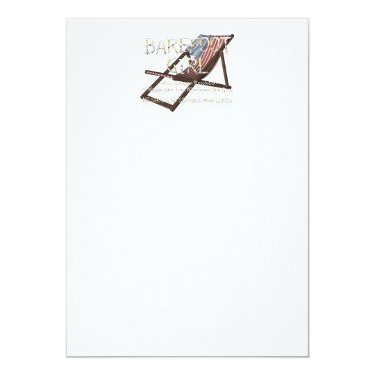 T-STÜCK barfüßigmädchen Karte