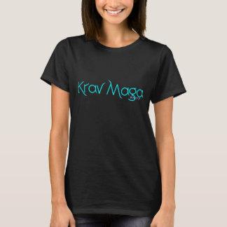 T-Stück der Damen-Krav Maga mit Hebräer T-Shirt