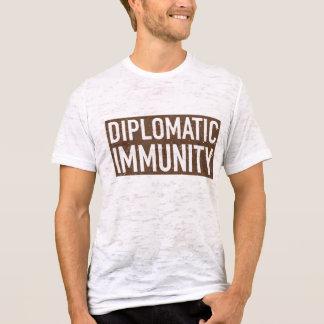 T-Stück der diplomatischen Immunität T-Shirt