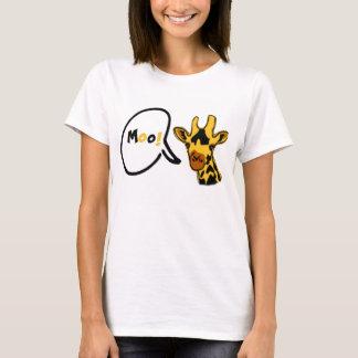 T-Stück der Giraffe MOO-ing für Damen T-Shirt