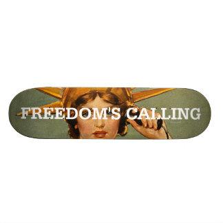 T-STÜCK Freiheit Nennen Skateboardbretter