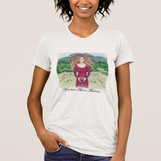 T-Stück für Gebirgsmutter Madness im Aschen-Grau T-Shirt