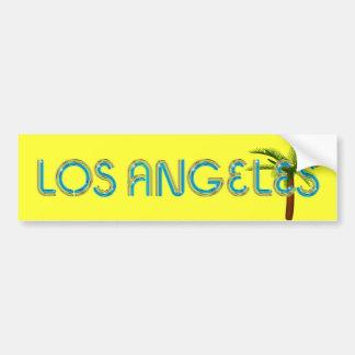 T-STÜCK Los Angeles Autoaufkleber