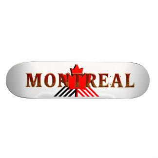 T-STÜCK Montreal 19,1 Cm Old School Skateboard Deck