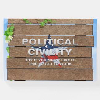 T-STÜCK politische Höflichkeit Gästebuch