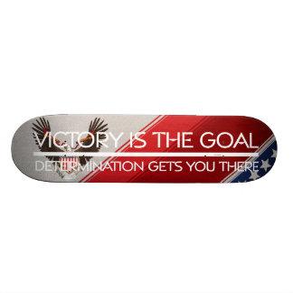 T-STÜCK politischer Sieg-Slogan Individuelles Skateboard