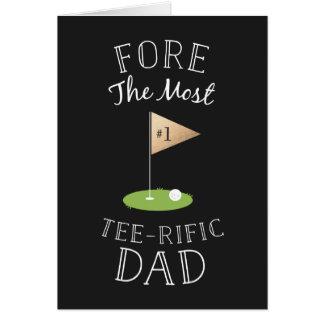 T-Stück-rific der Vatertag Grußkarte