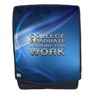 T-STÜCK Uni-Absolvent, welche nach Arbeit sucht Rucksack