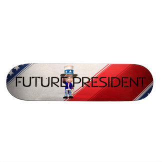 T-STÜCK Zukunft-Präsident Bedrucktes Skateboard