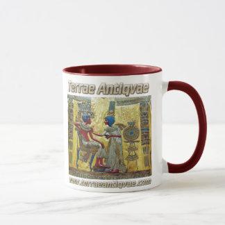 TA Tutankamon Ägypten 01 zerteilt Tasse