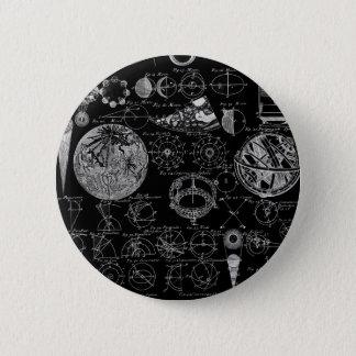 Tabelle von Astronomie Runder Button 5,1 Cm