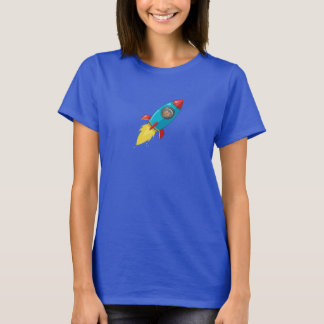 Tabitha Fink das dunkle Rocket Frauen T-Shirt