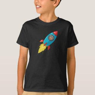 Tabitha Fink dunkler Rocket T - Shirt