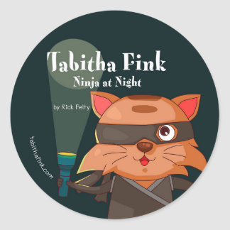 Tabitha Fink Ninja Aufkleber