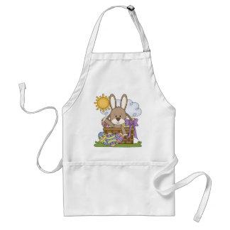 Tablier de lapin de Pâques