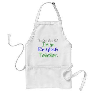 Tablier de professeur d Anglais