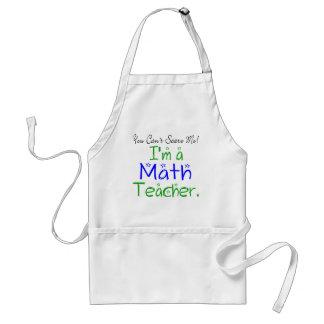 Tablier de professeur de maths