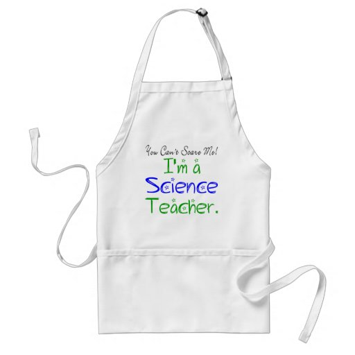 Tablier de professeur de Sciences