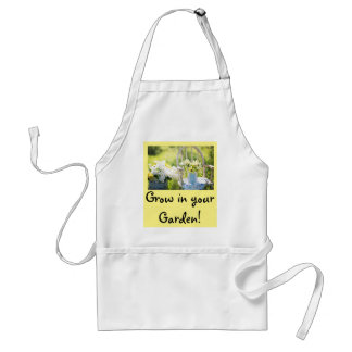 Tablier nostalgique de chemise de jardin